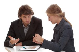 Meeting with an attorney on divorce cost